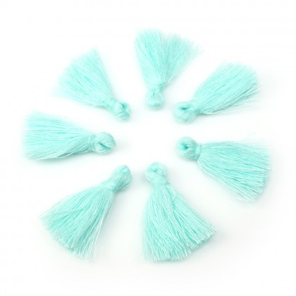 Small Cotton Tassels for DIY Earring Necklace Jewelry Making