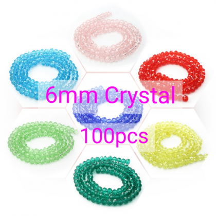 Chinese Crystal Beads - 6mm