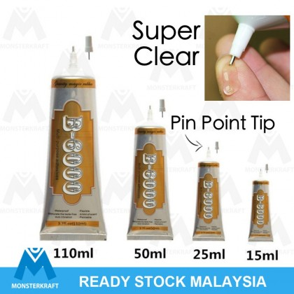 Adhesive Glue with Pin Point Tip, B6000