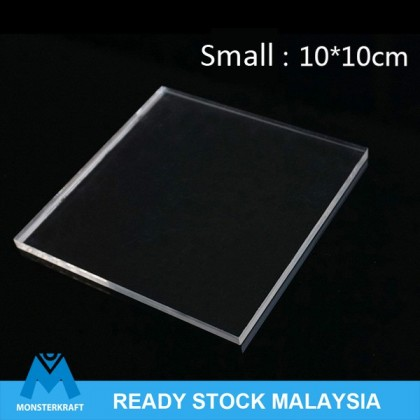 Transparent Acrylic Sheet For Clay Modelling