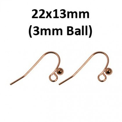 Earwire Copper Gold-Plated