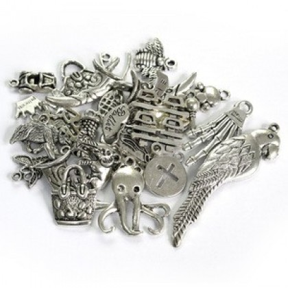 Promo: Pewter Charms, Assortments, 50 grams/pack