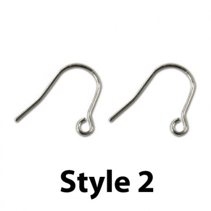 Earwire, Silver-Plated