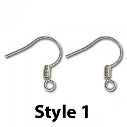Earwire, Silver-Plated, Most Popular For Jewelry Making Earrings