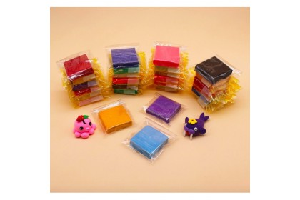 24 Colors/Set Oven-Bake Fimo Polymer Clay With Tools Early Education Brinquedo