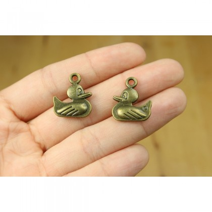 Charms Animal Series, Antique Brass-Plated Pewter 50g