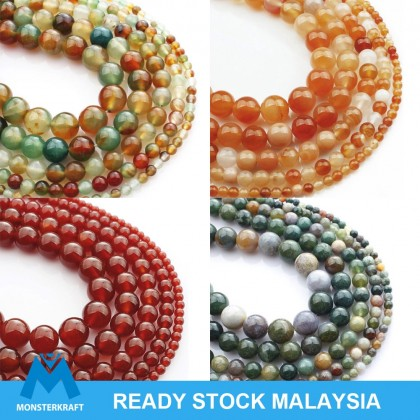 Natural Agate Gemstone Beads