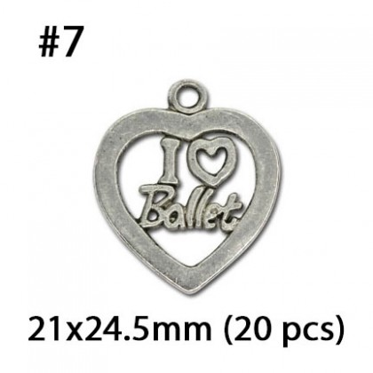 Silver Charms, Love Valentine Couple Wedding