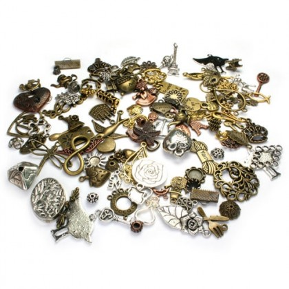 VALUE PACK: Pewter Charms & Links Assortments