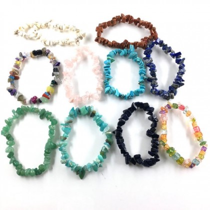Natural Gemstone Beads - Small Chips