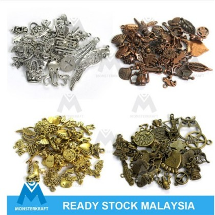 [Wholesale] Pewter Charms, Assortments, 1 KG